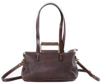 At Wolf Badger Eazo Soft Leather Tote In Dark Brown