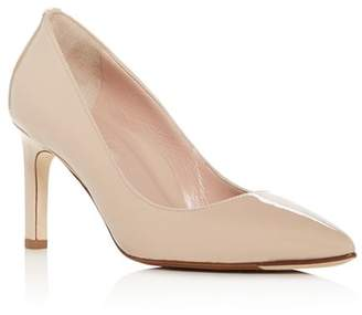 Taryn Rose Women's Gabriela Patent Leather Pointed Toe Pumps