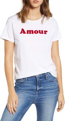 French Connection Amour Graphic Tee