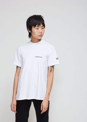 Vetements Open Back T-shirt