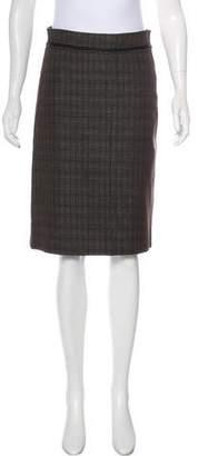 Dries Van Noten Wool & Linen Skirt