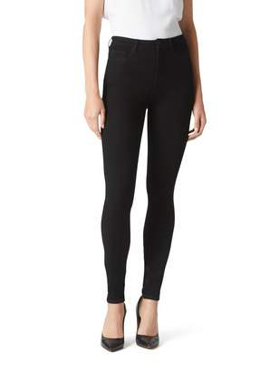 Jeanswest Freeform 360 High Waisted Skinny Full Length-Black-6-XLong