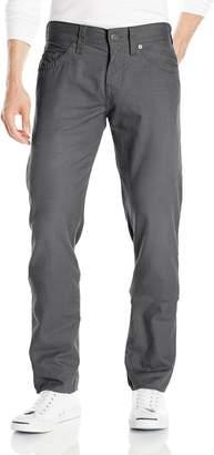 True Religion Men's Knife Coated Five Pocket Geno Relaxed Slim Pant