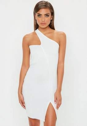 Missguided Asymmetric Neck Bodycon Dress