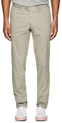Hiltl Men's Stretch-Cotton Flat-Front Trousers