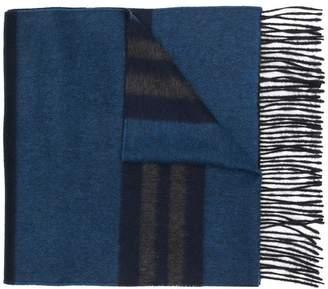 Lanvin horizontal stripes scarf