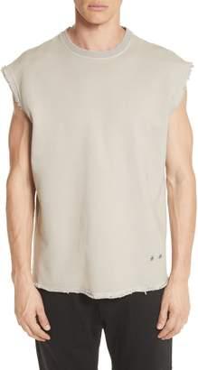 Helmut Lang Distressed Sleeveless T-Shirt