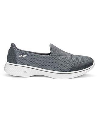 674921021c6a6 at Fashion World · Skechers Go Walk 4 Trainers Wide Fit