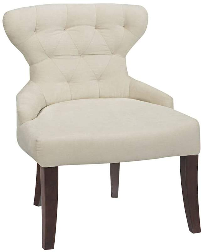 Office Star Products Avenue Six Curves Hourglass Chair