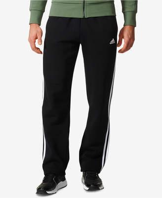 adidas Men Essential Open-Hem Fleece Sweatpants