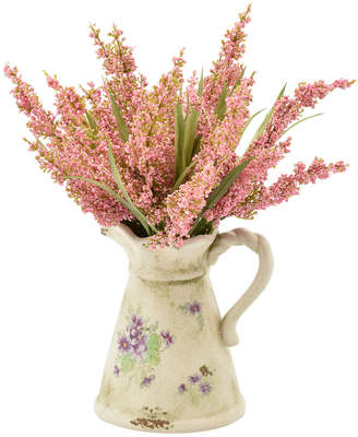 Creative Displays Heather Plant In Ceramic Pitcher