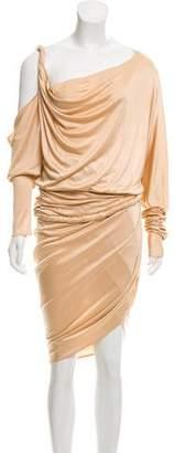 Ungaro Off-Shoulder Draped Dress