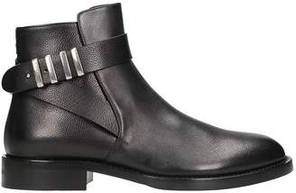 Givenchy Cruz Jodhpur Black Leather Boot