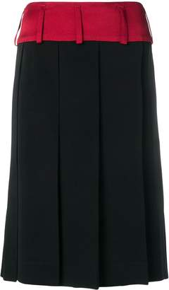 Marni large pleat skirt