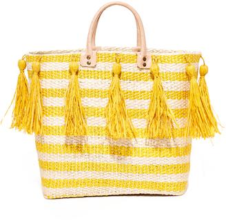 Mar Y Sol Sahara Tote $139 thestylecure.com