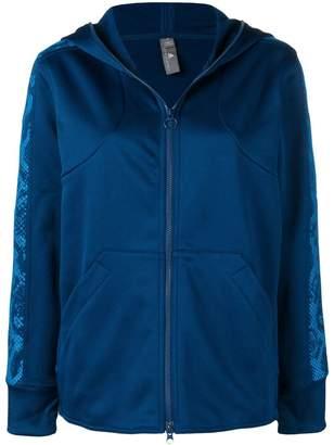 adidas by Stella McCartney zip front track hoodie