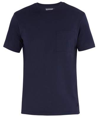 Vilebrequin Teegus Cotton T Shirt - Mens - Navy