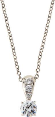 FANTASIA Prong-Set CZ Pendant Necklace