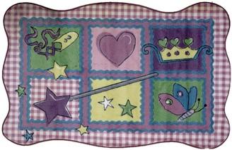 Fun Rugs Supreme Fairy Quilt Rug - 3'3'' x 4'10''