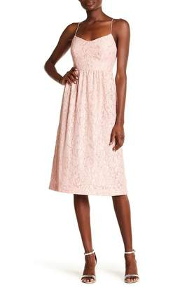 Cynthia Steffe CeCe by Geneva Floral Lace Dress