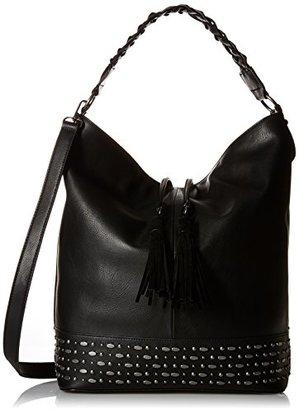 Steve Madden Bthalia Hobo Bag,Black $59.99 thestylecure.com