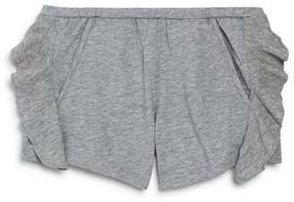 Chaser Girls' Ruffled Cotton Shorts - Little Kid, Big Kid