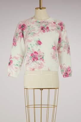 Prada Flower angora knitwear