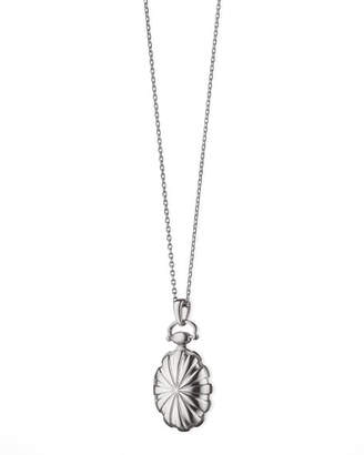 Monica Rich Kosann Petite Sunburst Locket Necklace