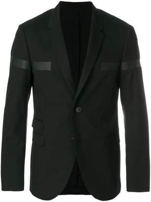 Neil Barrett block stripe blazer