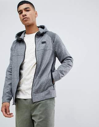 Abercrombie & Fitch performance sports hoodie in gray marl
