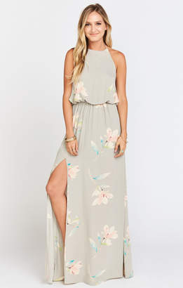 Show Me Your Mumu Heather Halter Dress ~ Lily Showers