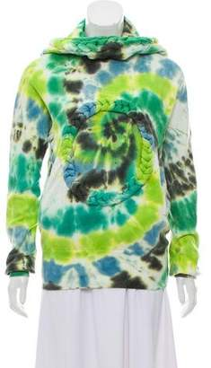 Bernhard Willhelm Tie-Dye Hooded Sweatshirt