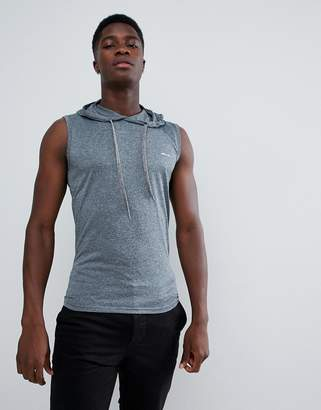 French Connection Sleeveless Hoodie