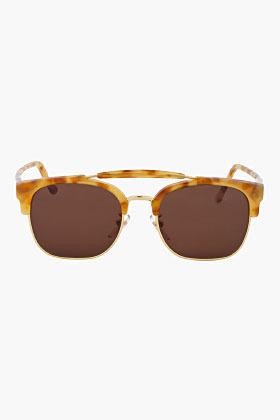 Super Gold Tortoiseshell Vintage Havana 49er Sunglasses