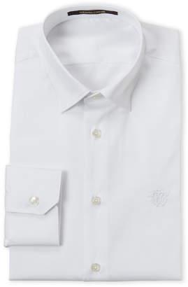 Roberto Cavalli White Slim Fit Dress Shirt