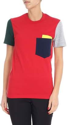 Cédric Charlier Color Block T-shirt