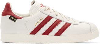 adidas Originals White & Red Moskva GTX Sneakers $120 thestylecure.com