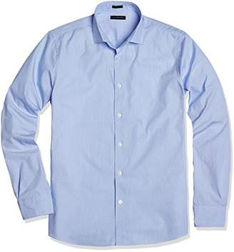 "Crafted Collar Men's Slim-Fit Dress Shirt 16.5"" Neck 33"" Sleeve"