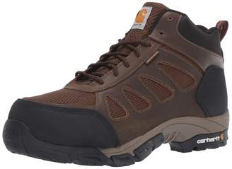 Carhartt Men's Lightweight Wtrprf Mid-Height Work Hiker Carbon Nano Safety Toe CMH4480 Industrial Boot Dark Brown Leather/Nylon 11.5 M US