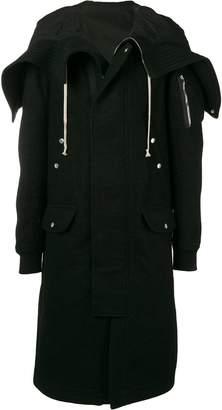 Rick Owens megaparka coat