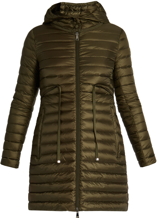 MonclerMONCLER Barbel hooded down coat