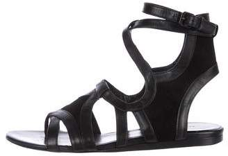 Balenciaga Leather Gladiator Sandals