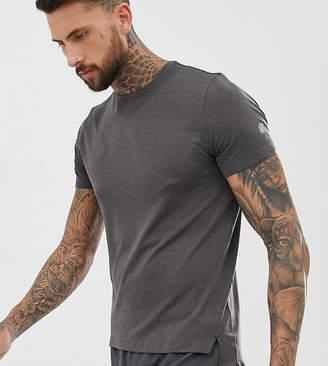 Asics seamless t-shirt in gray