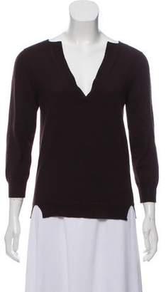 Bottega Veneta V-Neck Knit Sweater
