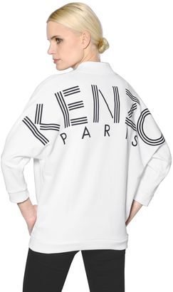 Logo Printed Cotton Jersey Sweatshirt $310 thestylecure.com