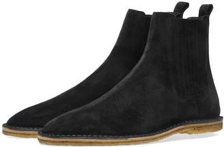 Saint Laurent Nino Crepe Sole Suede Chelsea Boot