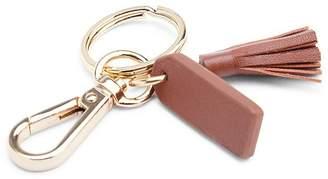 ROYCE New York Mini Leather Tassel Key Fob
