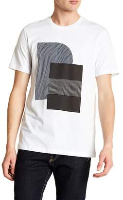 Perry Ellis Abstract Short Sleeve Tee