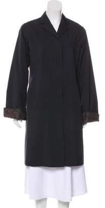 Dries Van Noten Knee-Length Button-Up Coat