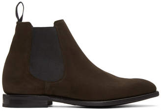 Church's Churchs Brown Suede Prenton Chelsea Boots